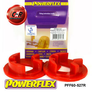 PFF60-527R Powerflex For Renault Megane2 RS 225 R26+Cup 02-08 RrLowEngMnt Insert