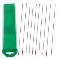 10x WT20 Wolframnadel Wolframelektrode TIG Elektroden Ø 1.0mm*150mm