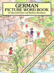 German Picture Word Book (Dover Children's Language Activity Books) - GOOD