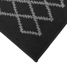 JVL Bergamo Latex Backed Machine Washable Entrance Door Mat or Runner