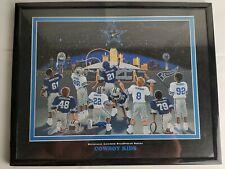 Dallas Cowboys 90's Dream Team Cowboy Kids Framed Print Awesome Vintage