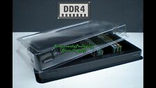 2 Computer Memory Packaging Tray Case for Desktop PC DDR4 Modules - Fits 100 New
