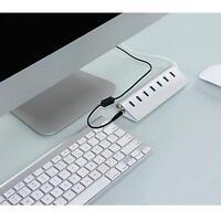 7 Ports USB 3.0 HUB Aluminum High Speed For Macbook Pro Mac PC Laptop 5Gbps TF
