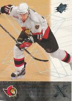 Marian Hossa 2000-01 SPx  #46 Ottawa Senators Hockey Card