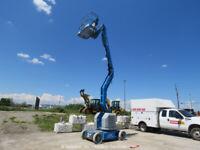 "2008 Genie Z34/22N 34' 4"" Electric Articulating Boom Lift Man Aerial bidadoo"