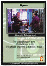 Babylon 5 CCG Deluxe Promo Card Spoo Used Played