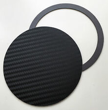 UNIVERSAL MAGNETIC TAX DISC & PARKING PERMIT HOLDER - BLACK CARBON FIBRE EFFECT