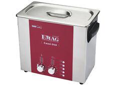 EMAG/ Schalltec Ultraschallreiniger Emmi-D 60 *6L*+ EM-404 500ml Messegerät