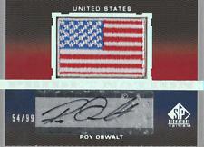 Roy Oswalt 2012 UD SP Signature Edition U.S. autograph auto card PN-RO /99