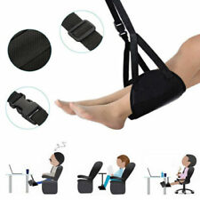 Comfy Hanger Travel Airplane Footrest Hammock Foot Made with Premium Memory Foam