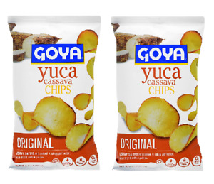GOYA Yuca Cassava Chips 2 PACK 4 oz. (113 gr.)