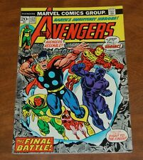 Marvel comics The Avengers #122 Zodiac 1974 Thor, Black Panther FN/FN+
