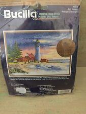Bucilla Lighthouse Embroidery Cross Stitch Kit Small Safe Passage 5x7 Lot