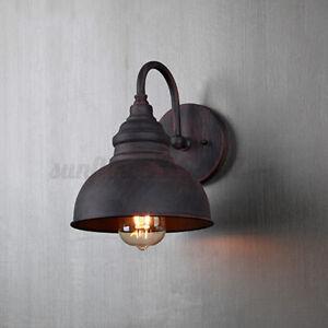 Retro Outdoor Waterproof Wall Light Garden Doorway Vintage Porches Lamps Home