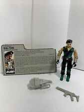 New listing Gi Joe 1986 Dial Tone - Complete With File Card