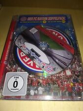 DER FC BAYERN MÜNCHEN DOPPELPACK CD DVD 2007 2008 fussbalL football calcio