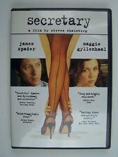 Secretary DVD James Spader, Maggie Gyllenhaal, Jeremy Davies, Lesley Ann Warren