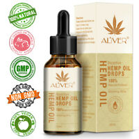 Hemp Oil Strong Strength Organic Herbal Extract Pain Relief 10ML/30ML 3000mg