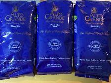 """""""Alto Grande"""" Whole Bean Coffee  2 lbs.SUPER PREMIUM PUERTO RICO COFFEE LOT OF 3"""