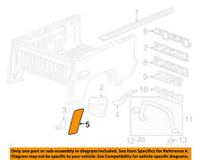 GM OEM Pick Up Box Bed-Stone Deflector Guard Left 15952193