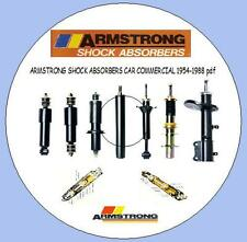 Armstrong Shock Absorbers Catalogue 1954-1988