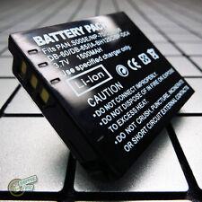 CGA-S005/S005E/DMW-BCC12 Battery for Panasonic Lumix DMC-LX1GN/LX3EF-K/FX07EF-S