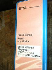 1995 VW PASSAT FACTORY WIRING DIAGRAMS TROUBLESHOOTING MANUAL SERVICE SHOP