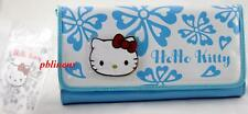 SANRIO HELLO KITTY LONG PURSE/WALLET BLUE FREE P&P UK UK SELLER