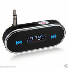 Car wireless MP3 FM radio transmitter Hands Free for iPhone 4/5/6/S iPod Samsung