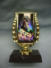 line hockey skate trophy insert award black base roller hockey