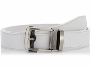 Nike Men's Flat Edge ACU Fit Ratchet Belt - Cut To Size - Choose Color!