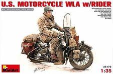 Kit modello MIN35172 - Miniart 1:3 5 - USA motocicletta WLA con RIDER