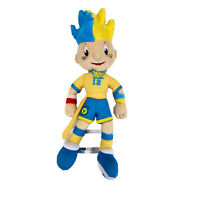 EURO 2012 Poland Ukraine Football Soccer Mascots SLAVKO Soft Plush Toy Official