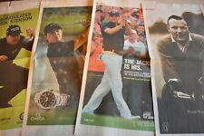 PGA Posters and Inserts Arnold Palmer, Woods, Lefty