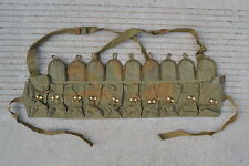 Vietnam Era Chicom Chinese PLA SKS/AK Chest Rig Ammo Pouch Marked 1966