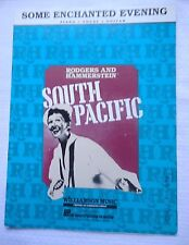 Some Enchanted Evening South Pacific Sheet Music for Piano Vocal Guitar