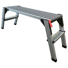 Arbeitsplattform 48cm hoch Arbeitsbühne Gerüstleiter Tritt Stufentritt Aluleiter