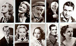 PICTUREGOER POSTCARDS film star actors & actresses main series, choose from list