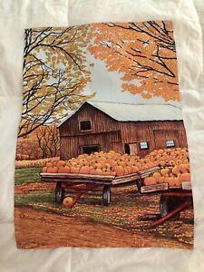 """Pumpkin Garden Flag {18""""x13""""}"""