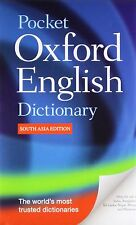 Pocket Oxford English Dictionary by Oxford Dictionaries Staff