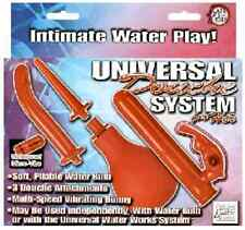 Universal Douche System 4 Her Intimate Water Play 3 Attachments Vibrating Bunny
