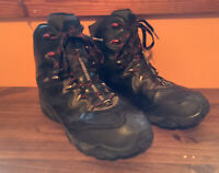 Merrell Waterproof Black MOAB Mid Hiking Boots Mens 12 Select Ice Grip Select D