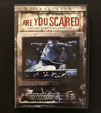 Are You Scared DVD Widescreen Edition Andy Hurst 2006 Game Show Horror EXCELLENT