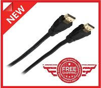 Premium 6Ft feet HDMI CABLE BLURAY 3D PS3 xbox 1080P HDTV Gold Plated NipponLabs