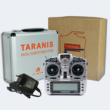 FrSky X9D Taranis PLUS ACCST 16-Kanal RC + ALU Koffer / Mode 2