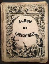 35 Daumier Lithographs: Album de Caricatures