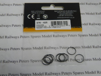 Graham Farish 379-425 Princess Coronation Traction Tyres (Pk10) N Gauge