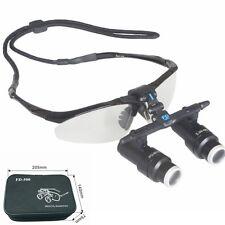 5.0X 420mm Medical Loupes Surgical Binocular Loupes 5X Dental Magnifying Glasses