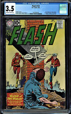 FLASH  #123 CGC 3.5  OWW 1ST GOLDEN AGE FLASH IN THE SILVER AGE #2037502018