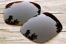 Dark Brown Amber Tint Polarized Replacement Sunglass Lenses for Oakley Holbrook